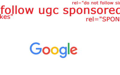 "Google's ""UGC"" and ""Sponsored"" Ref Tags – Yikes!"