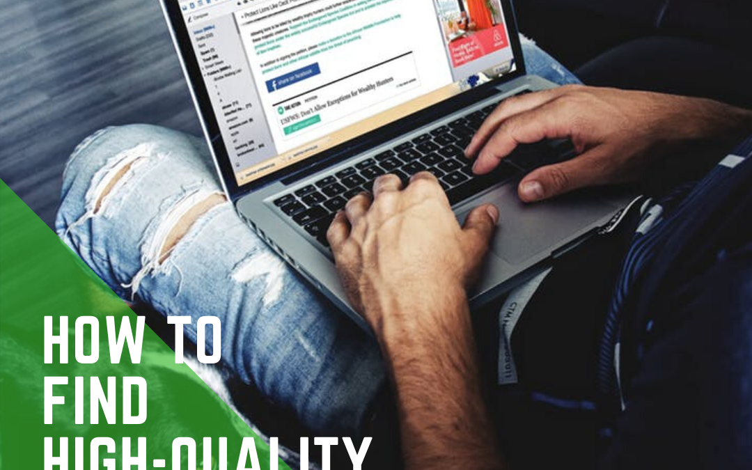 How to find High-Quality Links