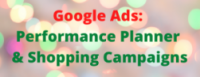 Your 2020 Holiday Shopping Campaigns & Google Performance Planner