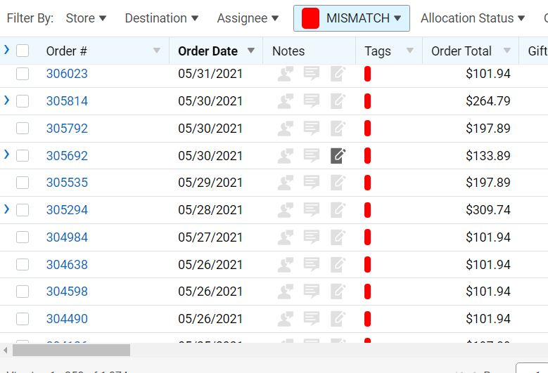 ecommerce fraud shipping mismatch