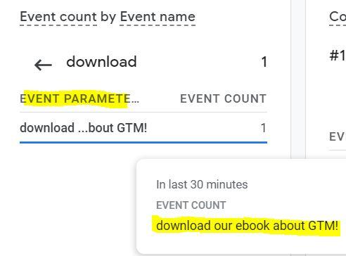 GA4 custom event parameters